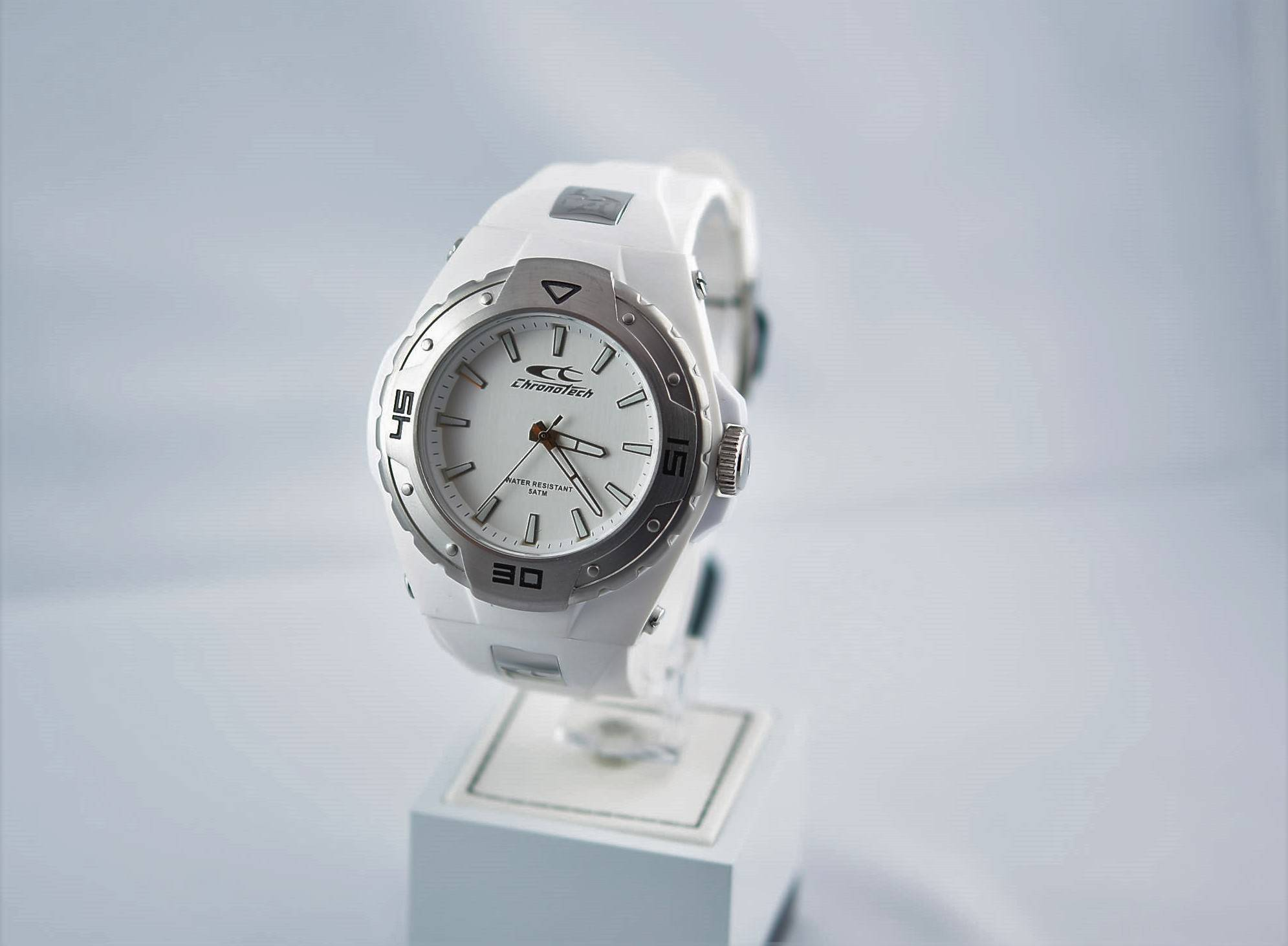 OROLOGIO CHRONOTECH WATER RESISTANT 5 ATM.